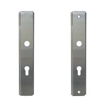 STAINLESS STEEL FRONT PLATE